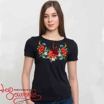 T-shirt Poppy Сhamomile ZVF-1076