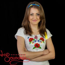 T-shirt Poppies ZVF-1130