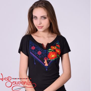 T-shirt Poppy Ornament ZVF-1169