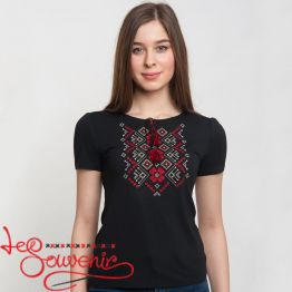 T-shirt Red Ornament ZVF-1171