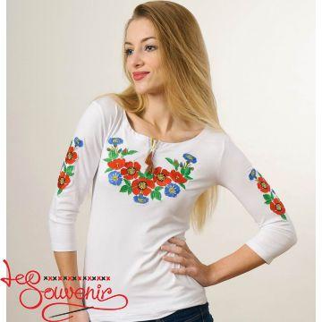 T-shirt Bouquet of Cornflowers ZVF-1178