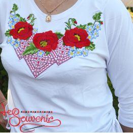 T-shirt Miracle Poppies ZVF-1199