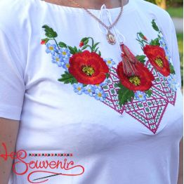 T-shirt Miracle Poppies ZVF-1200