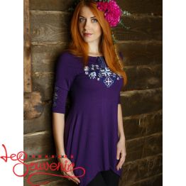 Dark Violet Tunic Forest Song  ZVF-1210