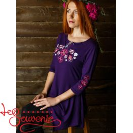 Dark Violet Tunic Forest Song  ZVF-1211