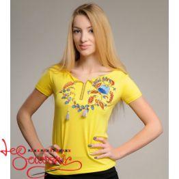 T-shirt Petrykivka Painting ZVF-1213