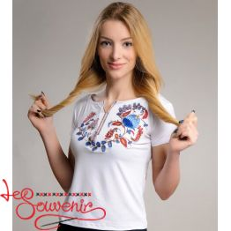 T-shirt Petrykivka Painting ZVF-1214