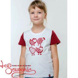 Детская футболка Курочки FPC-1002