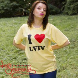 Футболка I love Lviv PFD-1078
