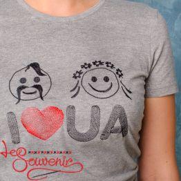 T-Shirt I love UA PFD-1096