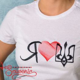 T-Shirt I love UA PFD-1097