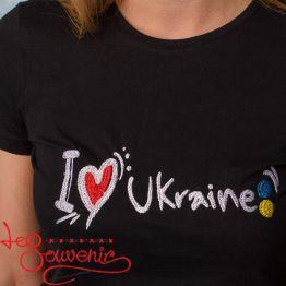 T-Shirt I love Ukraine PFD-1100