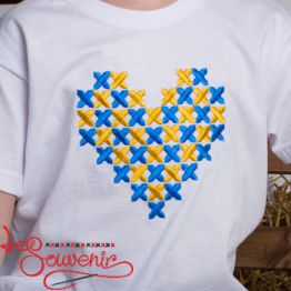 T-Shirt Gold Heart PFС-1001