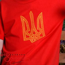 T-Shirt Embroidered Trident PFС-1013
