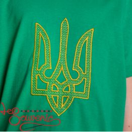T-Shirt Embroidered Trident PFС-1014