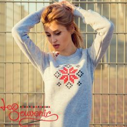 Sweater Ornament Flower PSV-1024