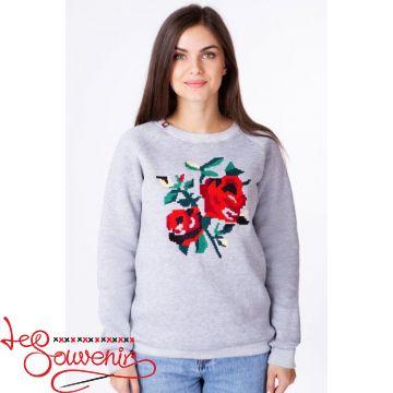 Світшот Троянда PSV-1027