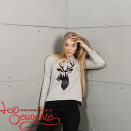 Вязаный свитер PSV-1043