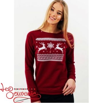Claret Sweater Christmas PSV-1050