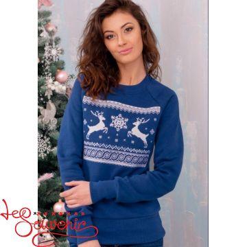 Свитшот Рождественский синий PSV-1052