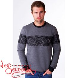Sweater with Black Embroidery PSV-1054