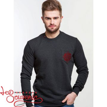 Sweater with Red Embroidery PSV-1055