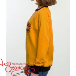 The Yellow Sweater with Embroidery PSV-1062
