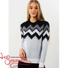 Knitted sweater PSV-1069
