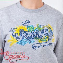 Свитшот Цветная Украина PSV-1071