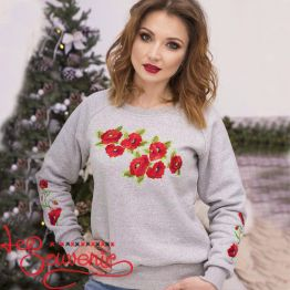 Sweater Bright Poppies PSV-1075