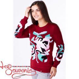 Вязаный свитер PSV-1091
