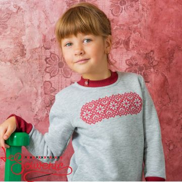 Sweater with Embroidery PSD-1005