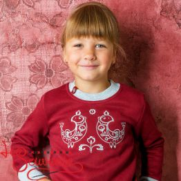 Sweater Petrykivsky Cockerels PSD-1011