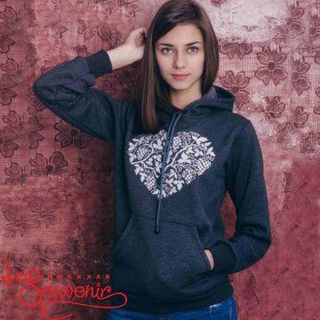 Sweater-hoodie Heart PSD-1018