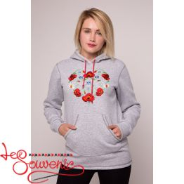Sweater-hoodie Heart PSD-1030