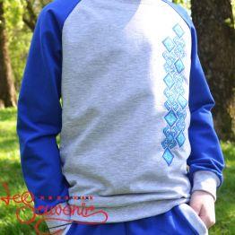 Дитячий спортивний костюм синій PSK-1005