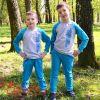 Дитячий спортивний костюм блакитний PSK-1006