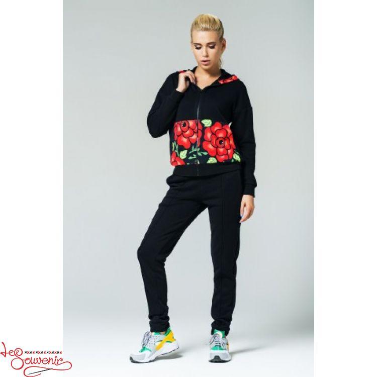 Спортивний костюм з квітковим орнаментом PSK-1009 6c7191a5bc8cc