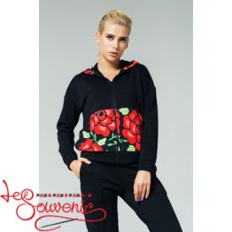 Sport Suit with Floral Ornament PSK-1009