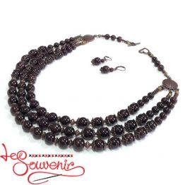 Ожерелье Гранат PN-1027