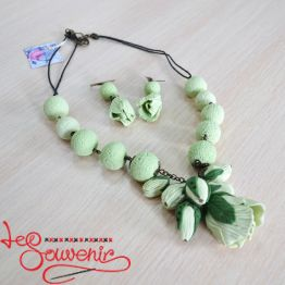 Set of Necklaces and Earrings PN-1057