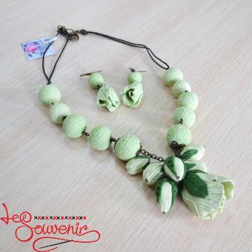 Набор ожерелье и серьги PN-1057