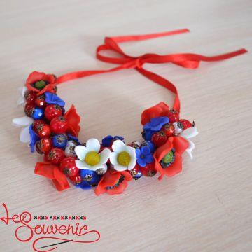 Ожерелье Цветочное  PN-1058