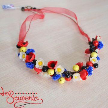 Ожерелье Цветочное  PN-1062