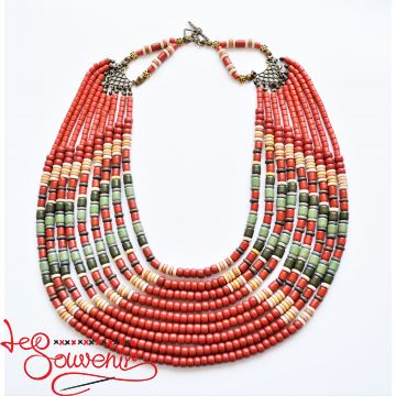 Ethnic necklace PN-1104