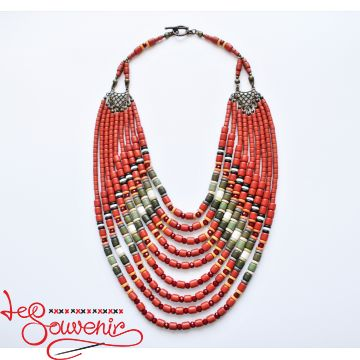 Ethnic necklace PN-1106
