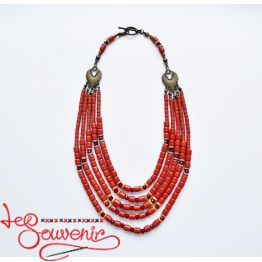 Ethnic necklace PN-1118