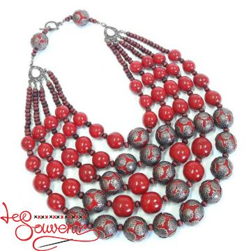 Wooden Necklace PN-1132