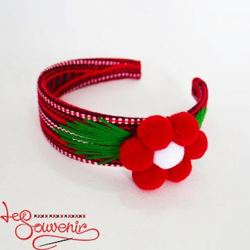 Red Woven Hoop PO-1029