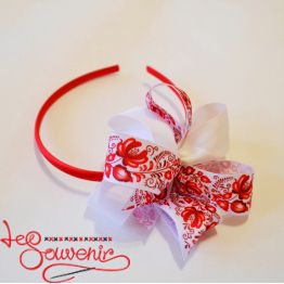 Hoop Red Bow PO-1057